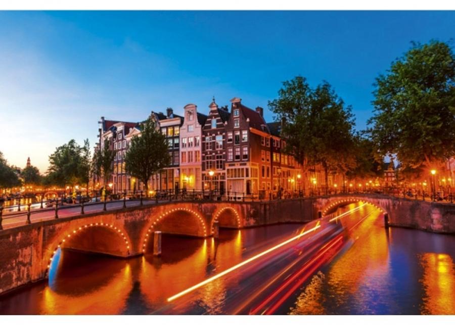 Fleece-kuvatapetti Amsterdam 225x250 cm