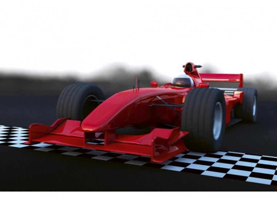 Fleece-kuvatapetti Formula 375x250 cm
