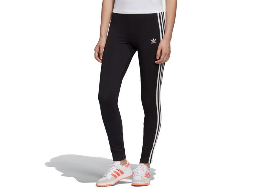 Naisten pitkät treenileggingsit adidas Originals 3-Stripes Tight W FM3287