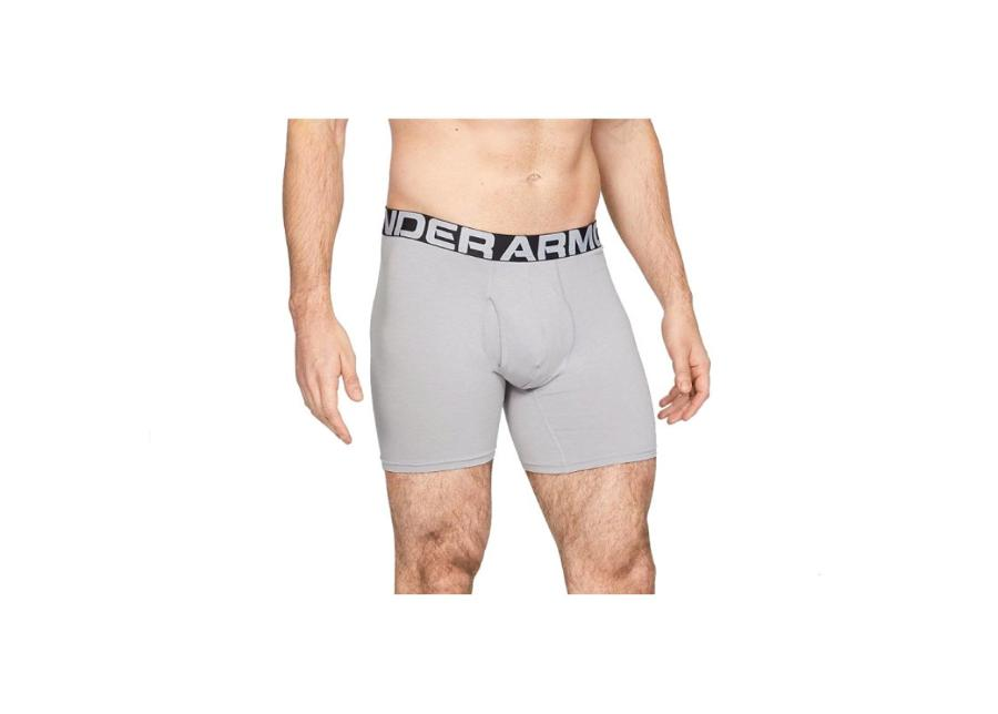 Miesten urheilu alushousut 3 paria Under Armour Charged Cotton 6 Boxerjock M 1327426-012
