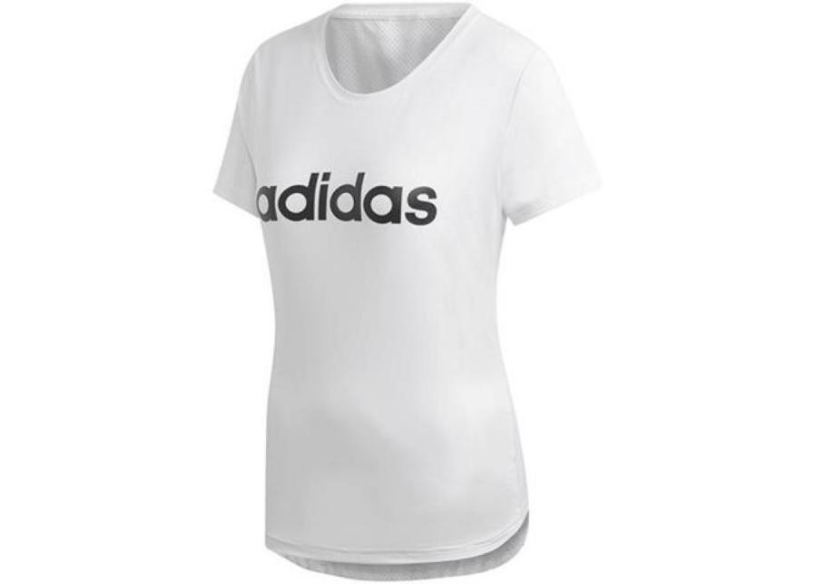 Naisten treenipaita adidas W D2M Logo Tee W DU2080