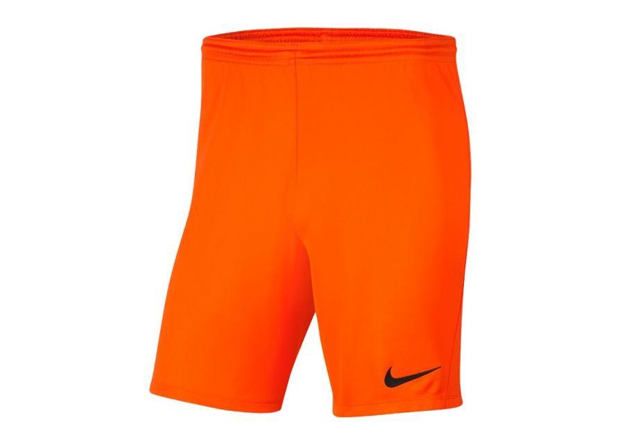 Lasten jalkapalloshortsit Nike Park III Knit Jr BV6865-819