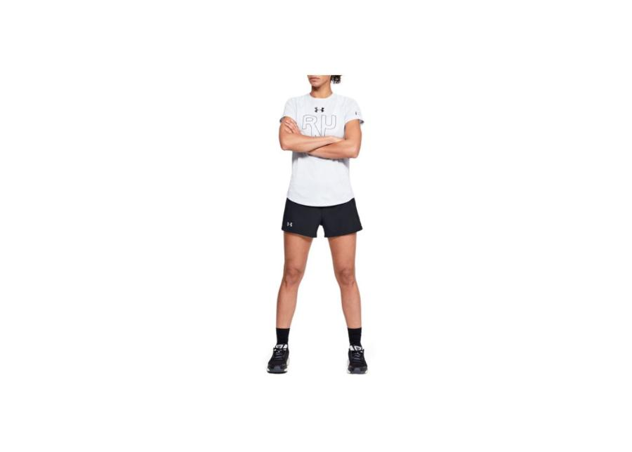 Naisten shortsit Under Armour W Qualifier Speedpocket Short W 1342856-001