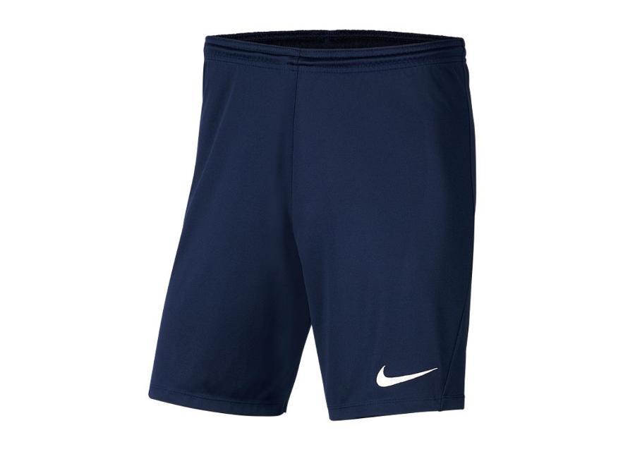 Lasten jalkapalloshortsit Nike Park III Knit Jr BV6865-410