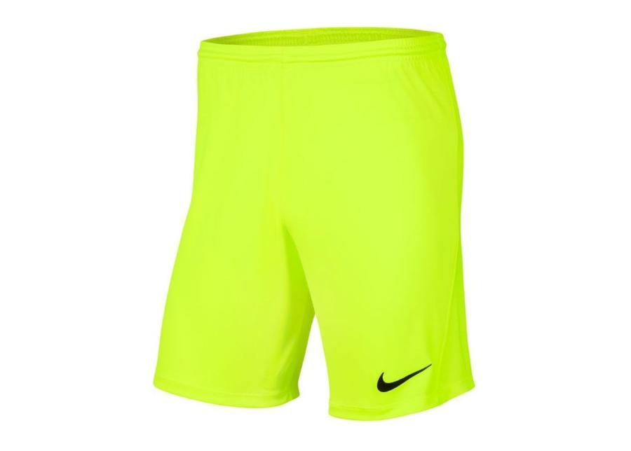 Lasten jalkapalloshortsit Nike Park III Knit Jr BV6865-702