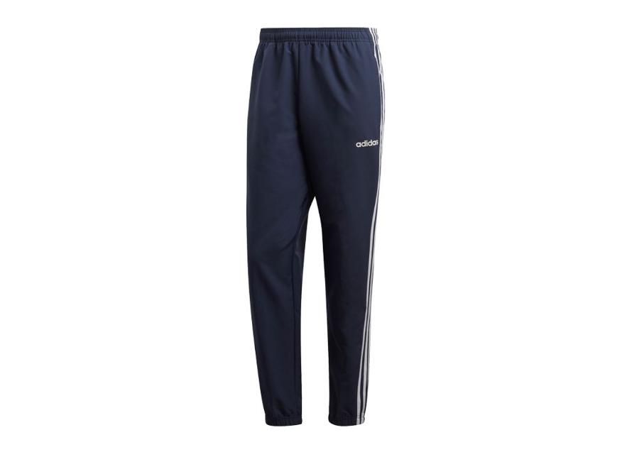 Miesten verryttelyhousut adidas Essentials 3 Stripes Wind M DU0453