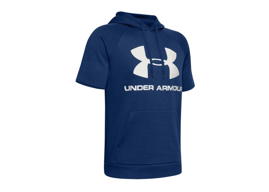 Miesten lyhythihainen huppari Under Armour Rival Fleece Logo M 1345624-449