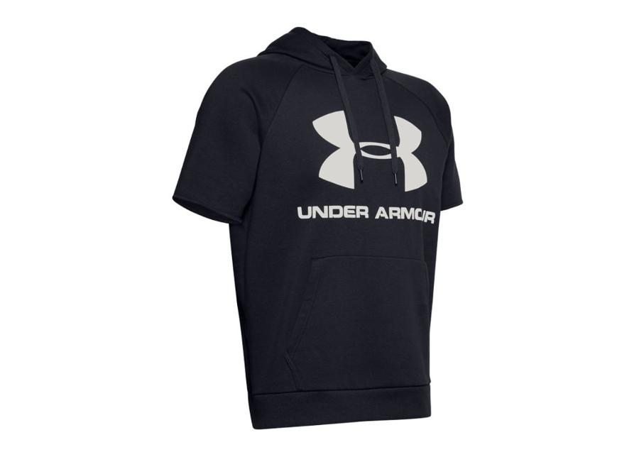 Miesten lyhythihainen huppari Under Armour Rival Fleece Logo M 1345624-002