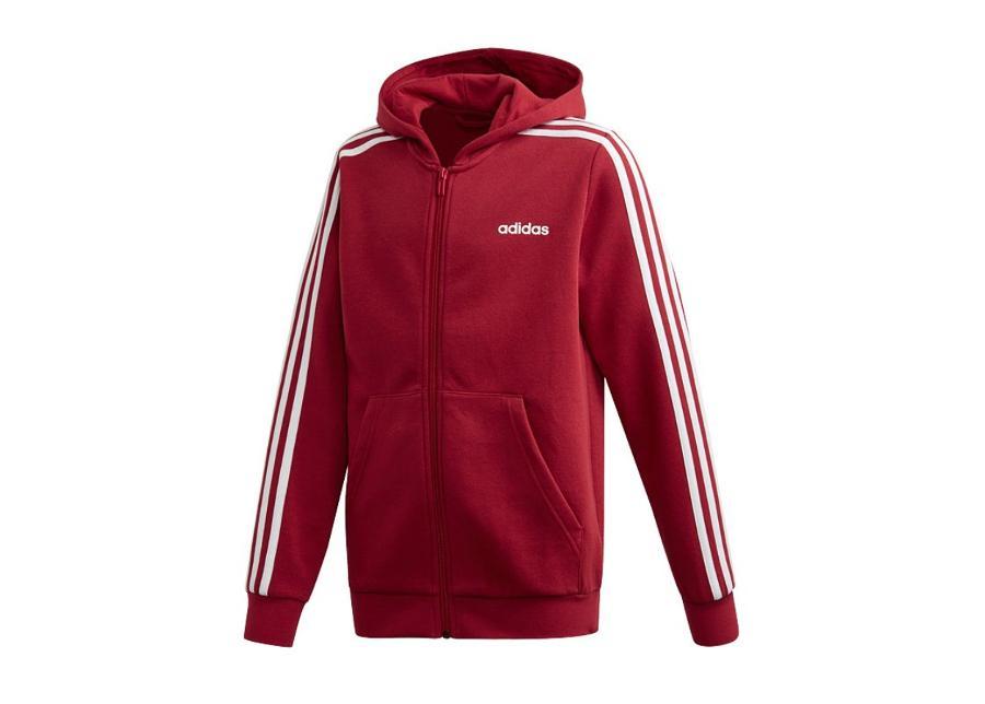 Lasten huppari adidas Essentials 3S Full Zip Hoodie Jr EI7995