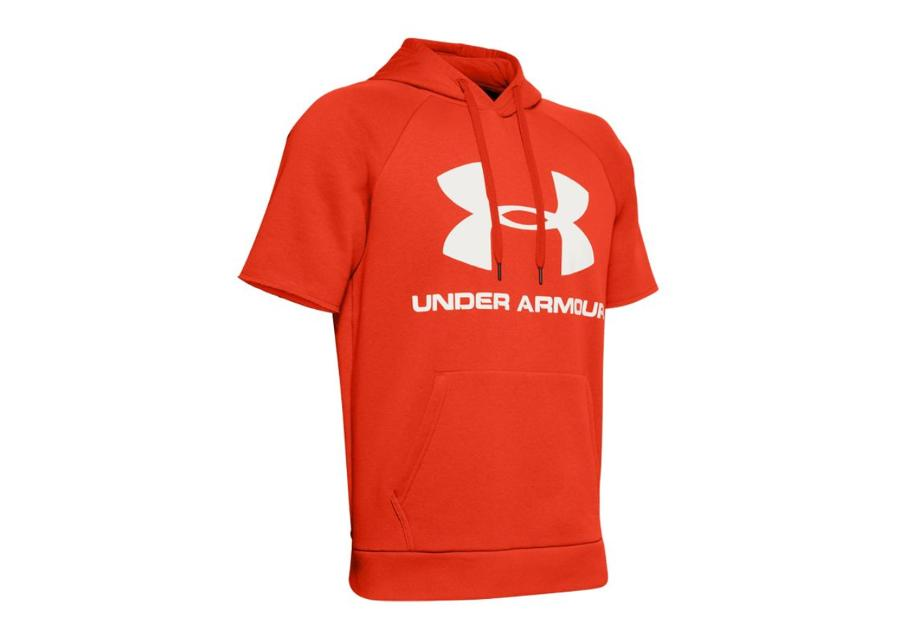 Miesten lyhythihainen huppari Under Armour Rival Fleece Logo M 1345624-856