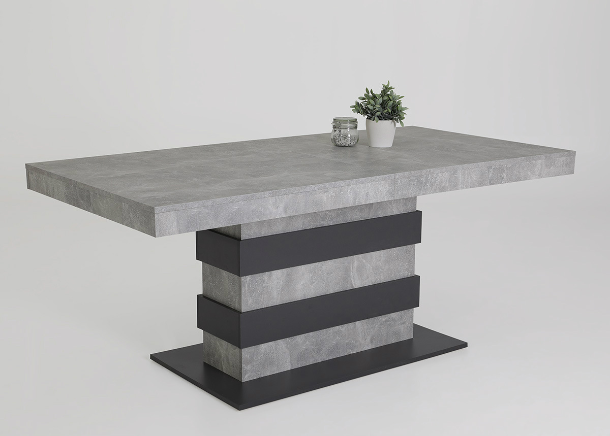 Jatkettava ruokapöytä Lizzy 90x160-220 cm