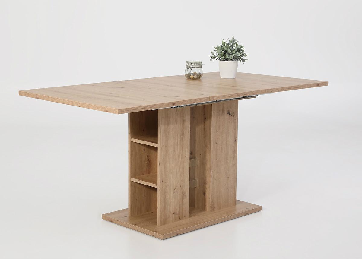 Jatkettava ruokapöytä Steffi 80x120-160 cm