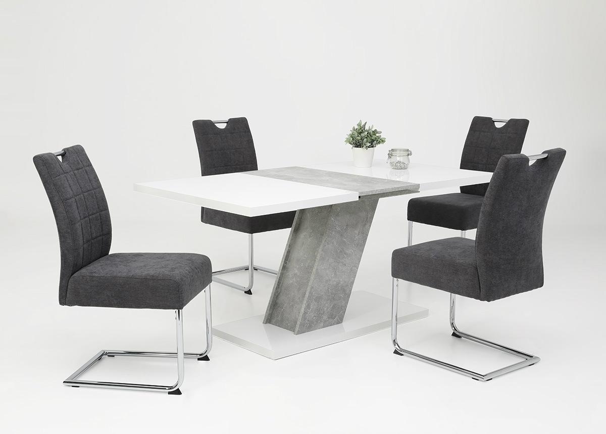 Jatkettava ruokapöytä Zita III 80x120-160 cm