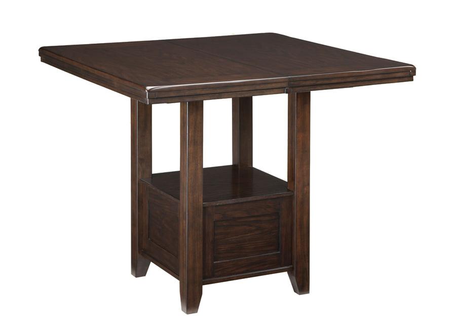 Jatkettava baaripöytä 106/152x107 cm