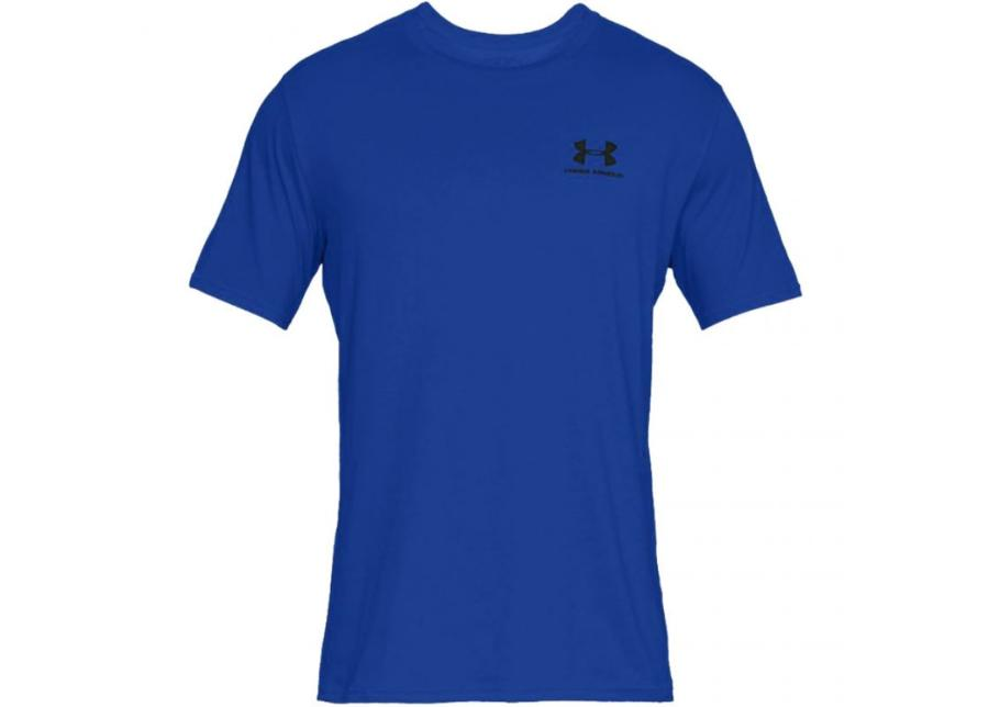 Miesten treenipaita Under Armour Sportstyle Left Chest SS M 1326799-486