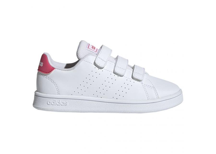Lasten vapaa-ajan kengät adidas Advantage C JR EF0221