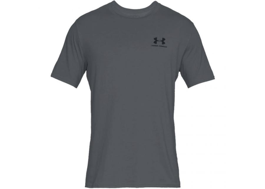 Miesten treenipaita Under Armour Sportstyle Left Chest SS M 1326799-012