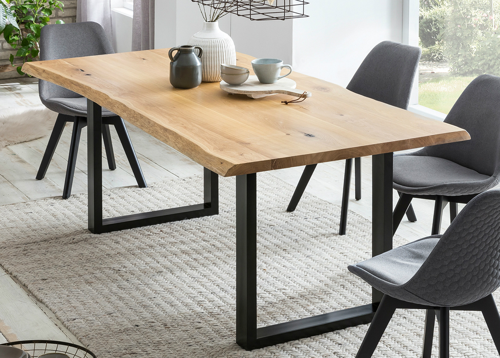 Ruokapöytä 100x220 cm
