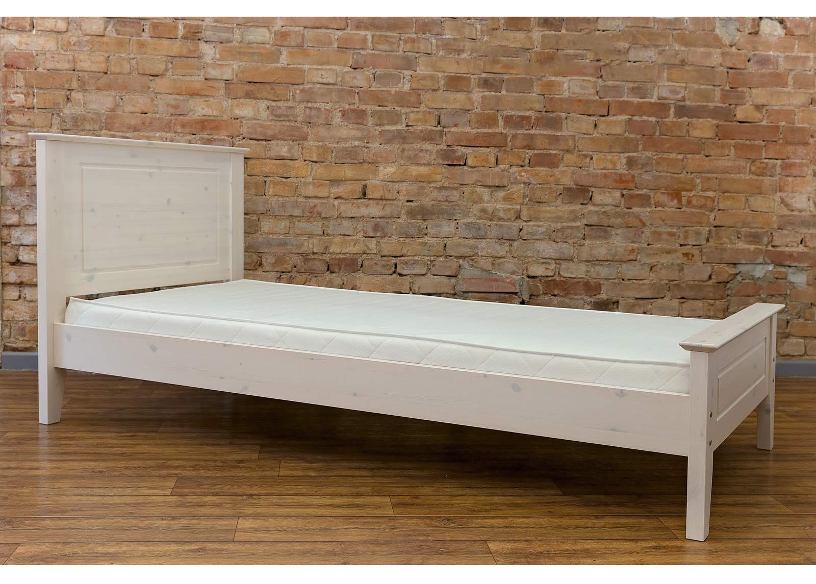 Sänky VANAMO 90x190 cm korkea jalkopääty