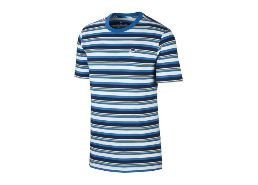 Miesten vapaa-ajanpaita Nike Nsw Tee Stripe M CK2702-484