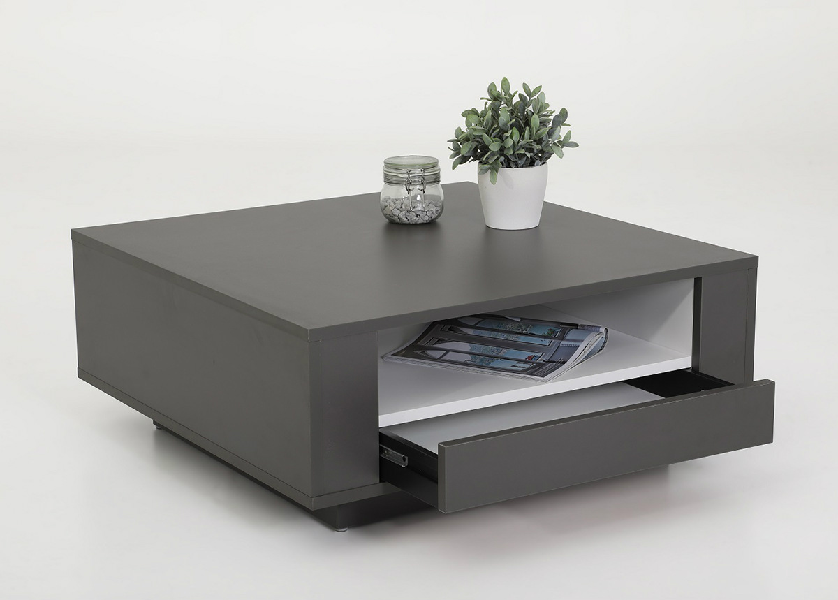 Sohvapöytä Victor 80x80 cm
