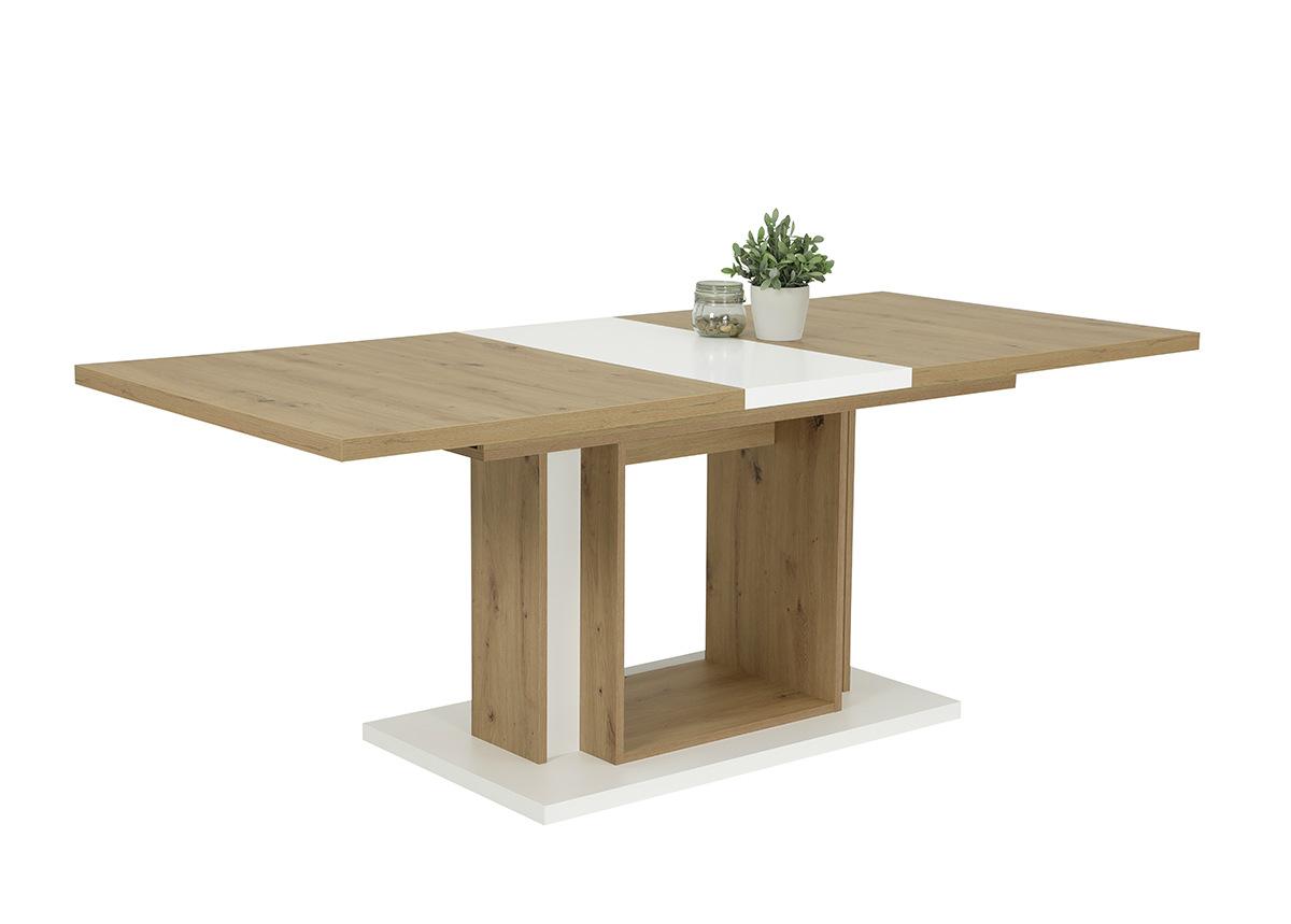 Jatkettava ruokapöytä Britta 90x160-200 cm