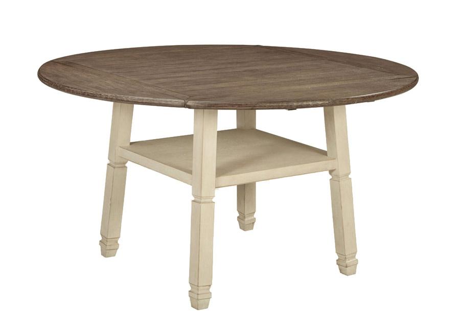 Jatkettava baaripöytä 117/163x117/163 cm