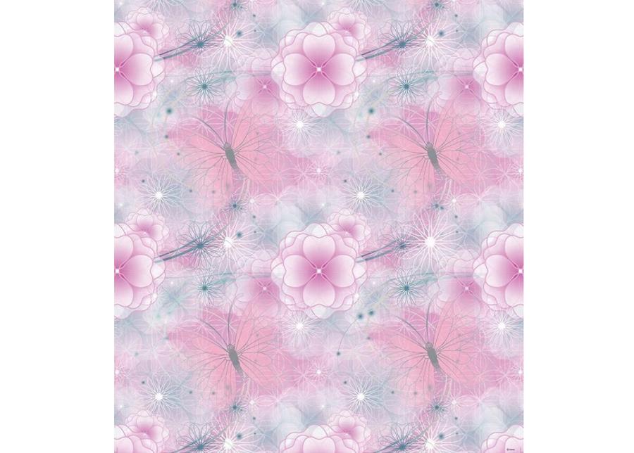 Fleecetapetti Fairies pattern 0,53 x 10 m