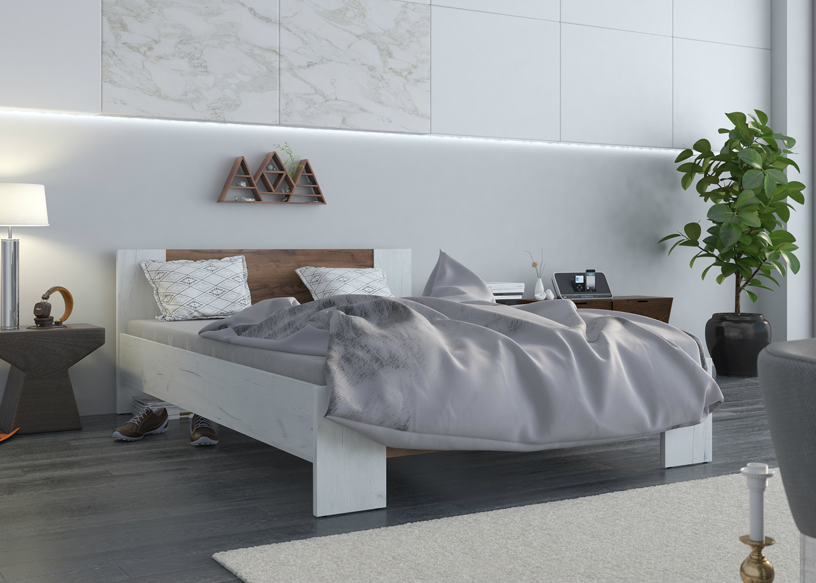 Sänky Vega 140x200 cm