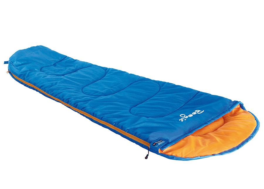 Lasten makuupussi Boogie, sininen/ oranssi
