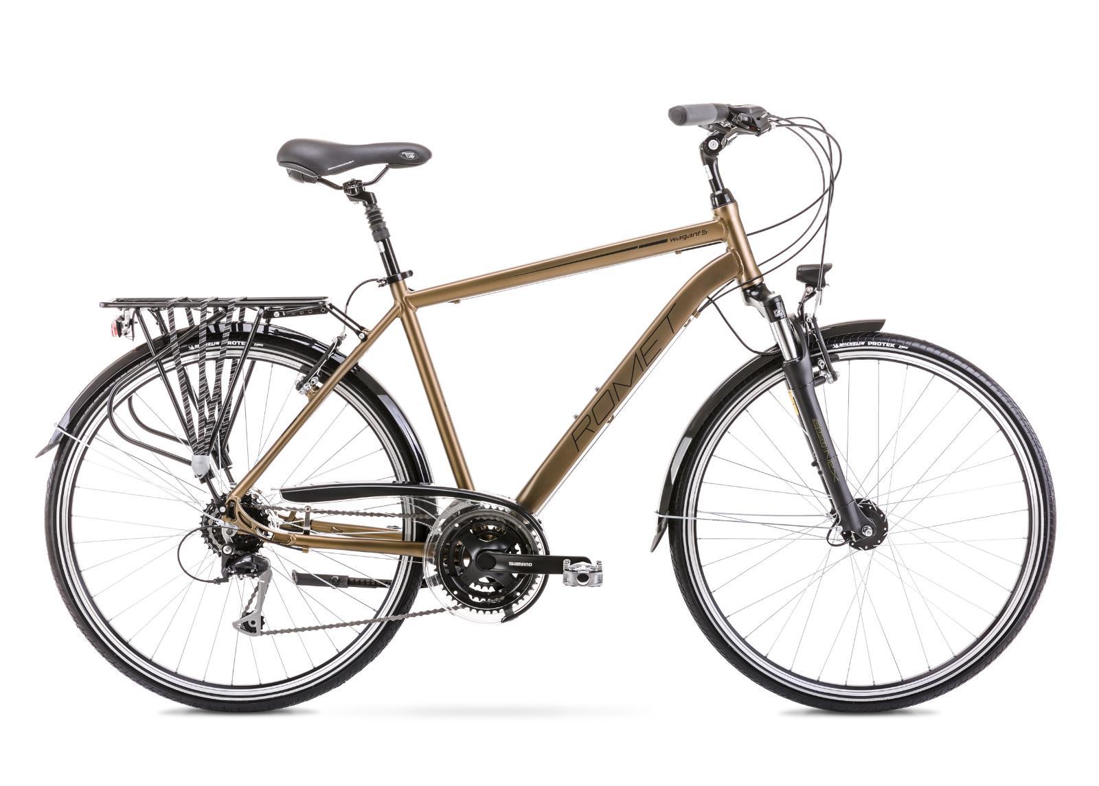 Miesten kaupunkipolkupyörä 21 L WAGANT 5 tummankeltainen