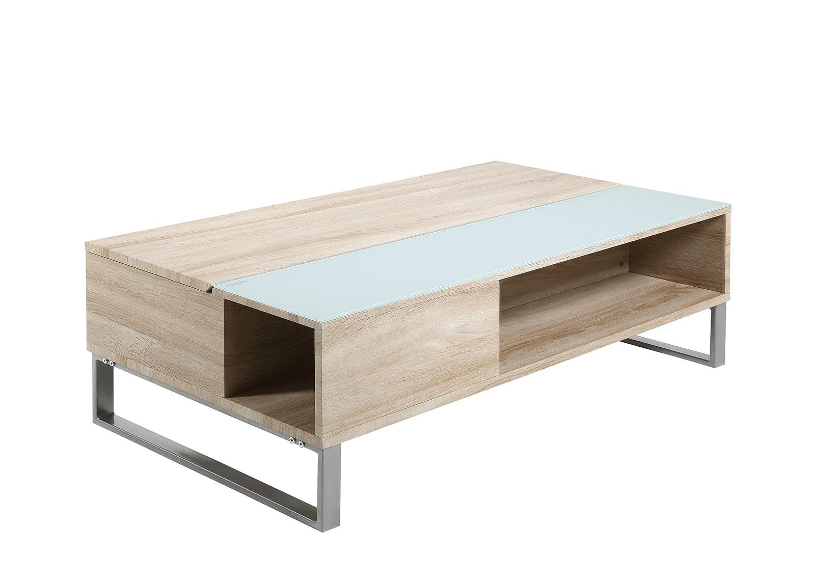 Sohvapöytä ylös nostettavalla kannella Azalea