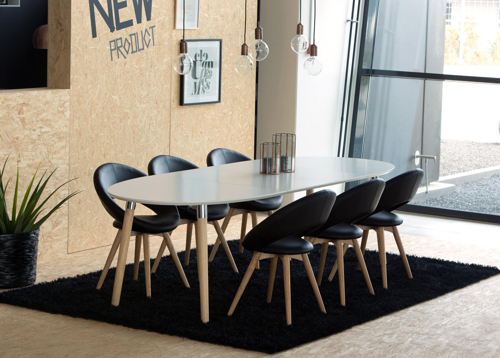Jatkettava ruokapöytä BELINA 100x170-270 cm