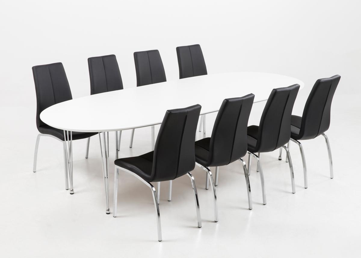 Jatkettava ruokapöytä CARINA 100x170-270 cm
