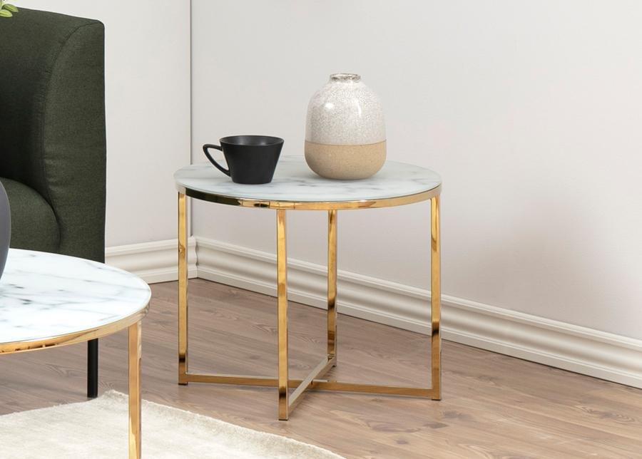 Sivupöytä Alisma Ø 50 cm