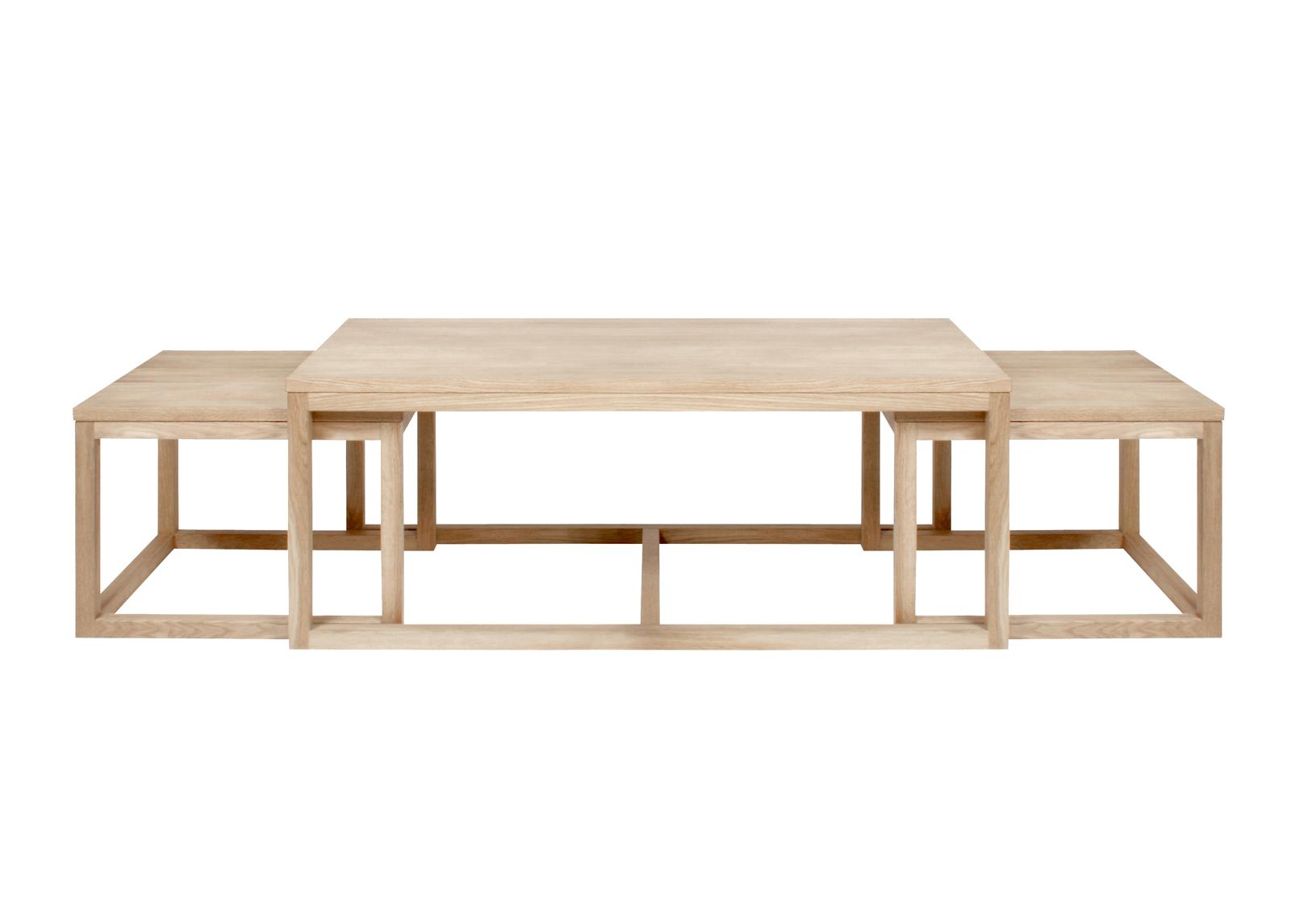 Sohvapöydät Cornus 3 kpl