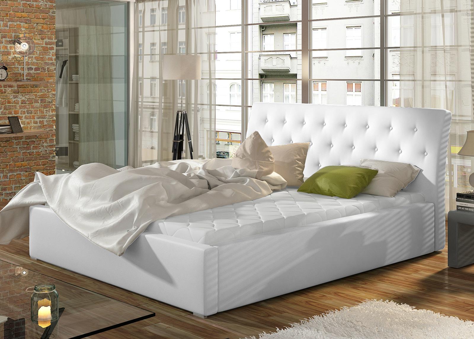 Sänky vuodevaatalaatikolla 200x200 cm