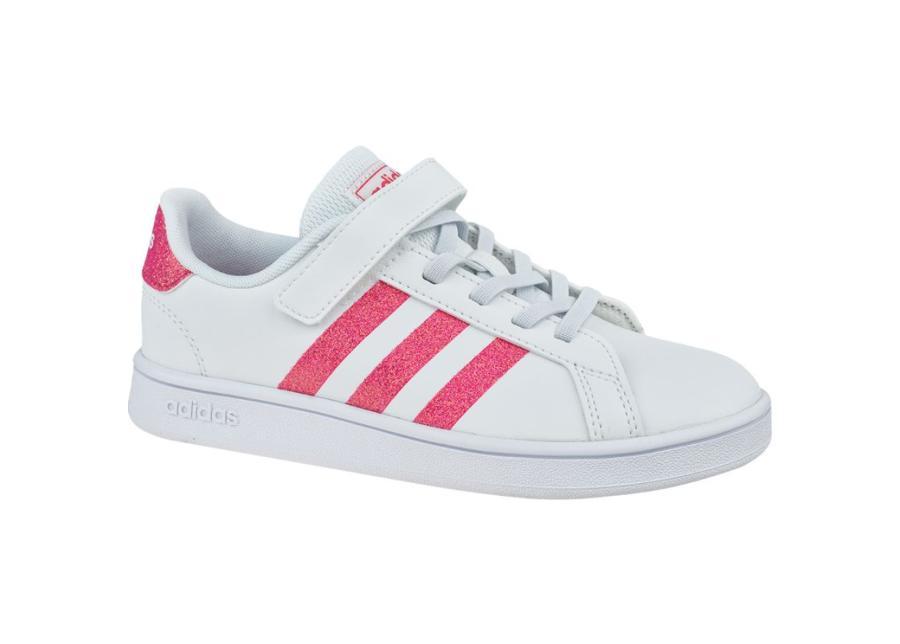 Lasten vapaa-ajan kengät adidas Grand Court K Jr EG3811