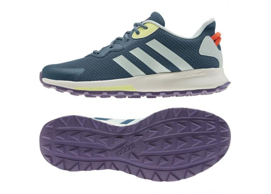 Naisten juoksukengät adidas Quesa Trail X W EG4205