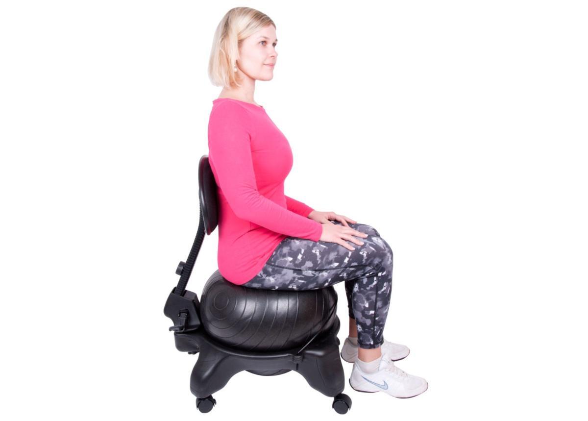 Urheilullinen työtuoli selkänojalla G-Chair inSPORTline