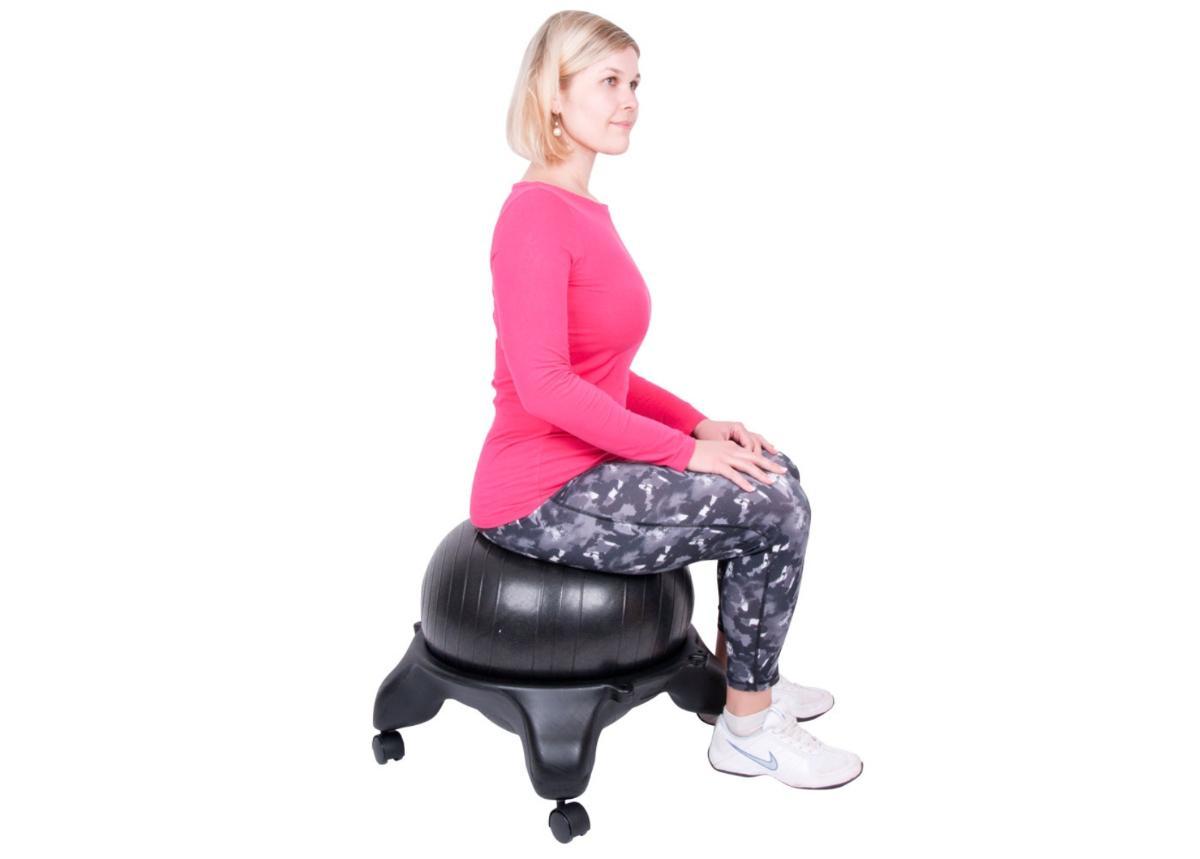 Urheilullinen selkänojaton toimistotuoli G-Chair Basic inSPORTline