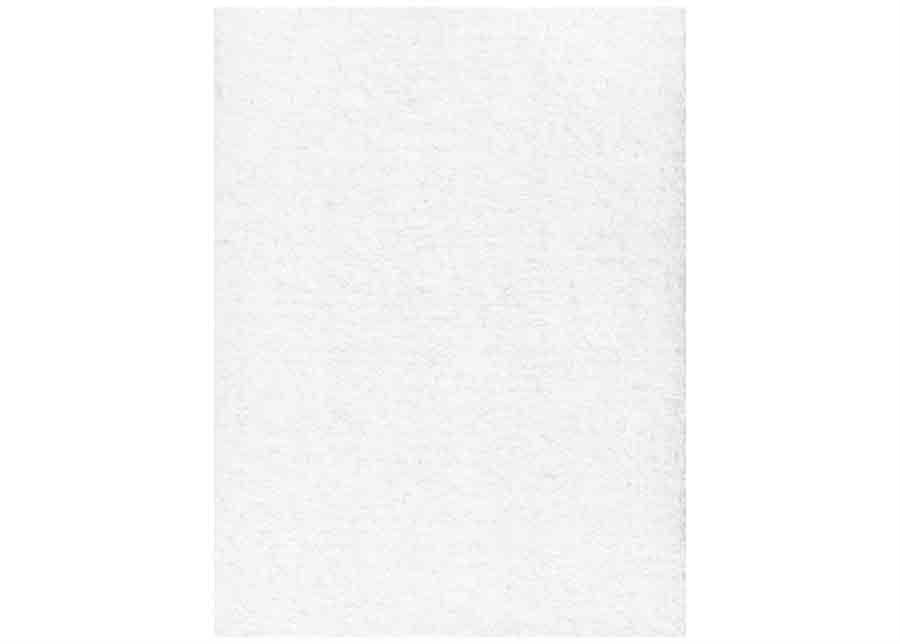 Narma velour matto Eden white 80x160 cm