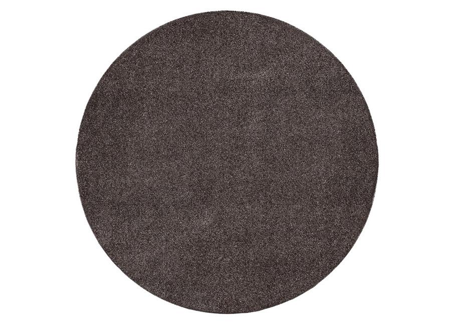 Narma velour matto Noble brown pyöreä Ø 133 cm