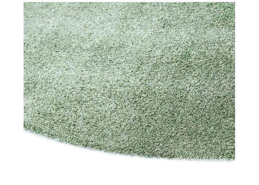 Narma velour matto Noble green pyöreä Ø 133 cm