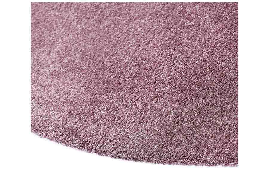 Narma velour matto Noble lilac pyöreä Ø 133 cm