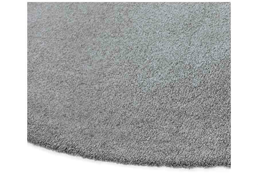 Narma velour matto Noble grey pyöreä Ø 200 cm