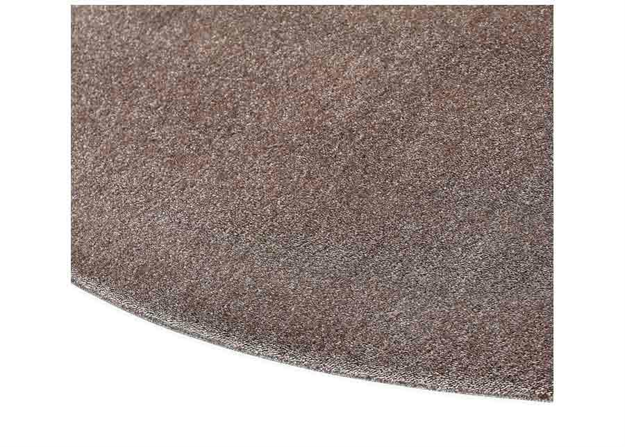 Narma velour matto Eden linen pyöreä Ø 133 cm