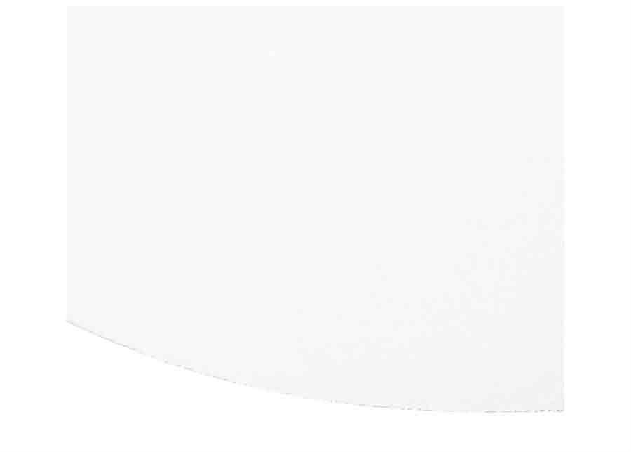 Narma velour matto Eden white pyöreä Ø 133 cm
