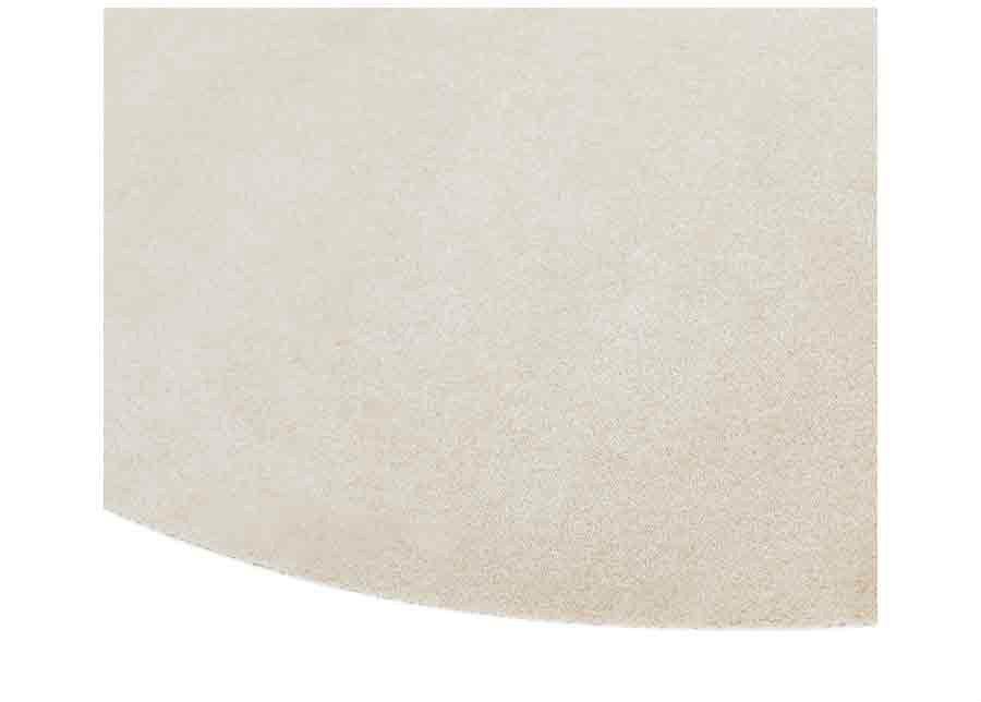 Narma velour matto Eden beige pyöreä Ø 133 cm
