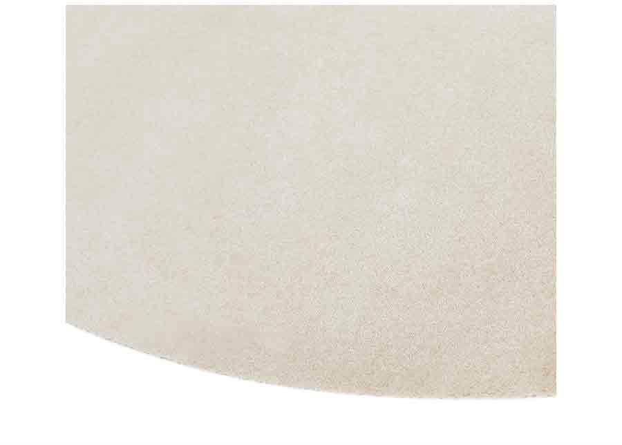 Narma velour matto Eden beige pyöreä Ø 200 cm